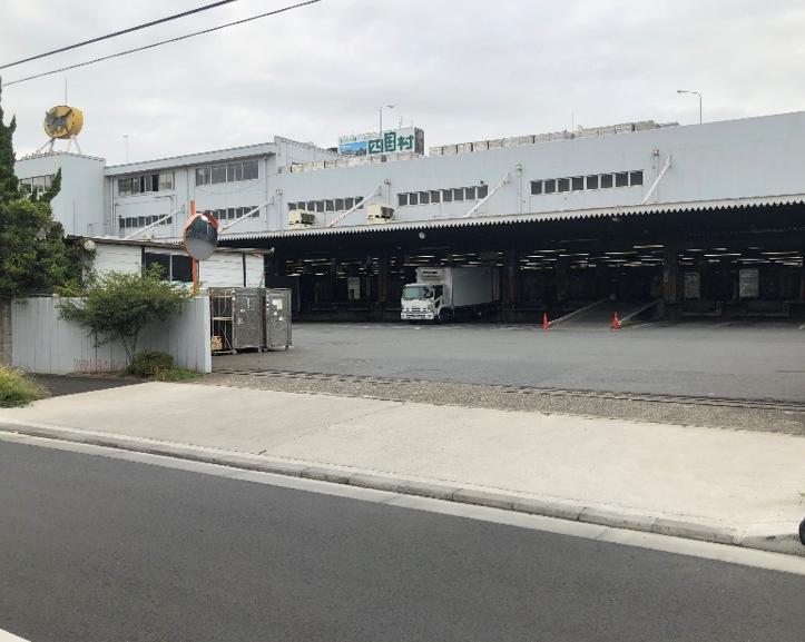 ヤマト枝川物流センター解体工事