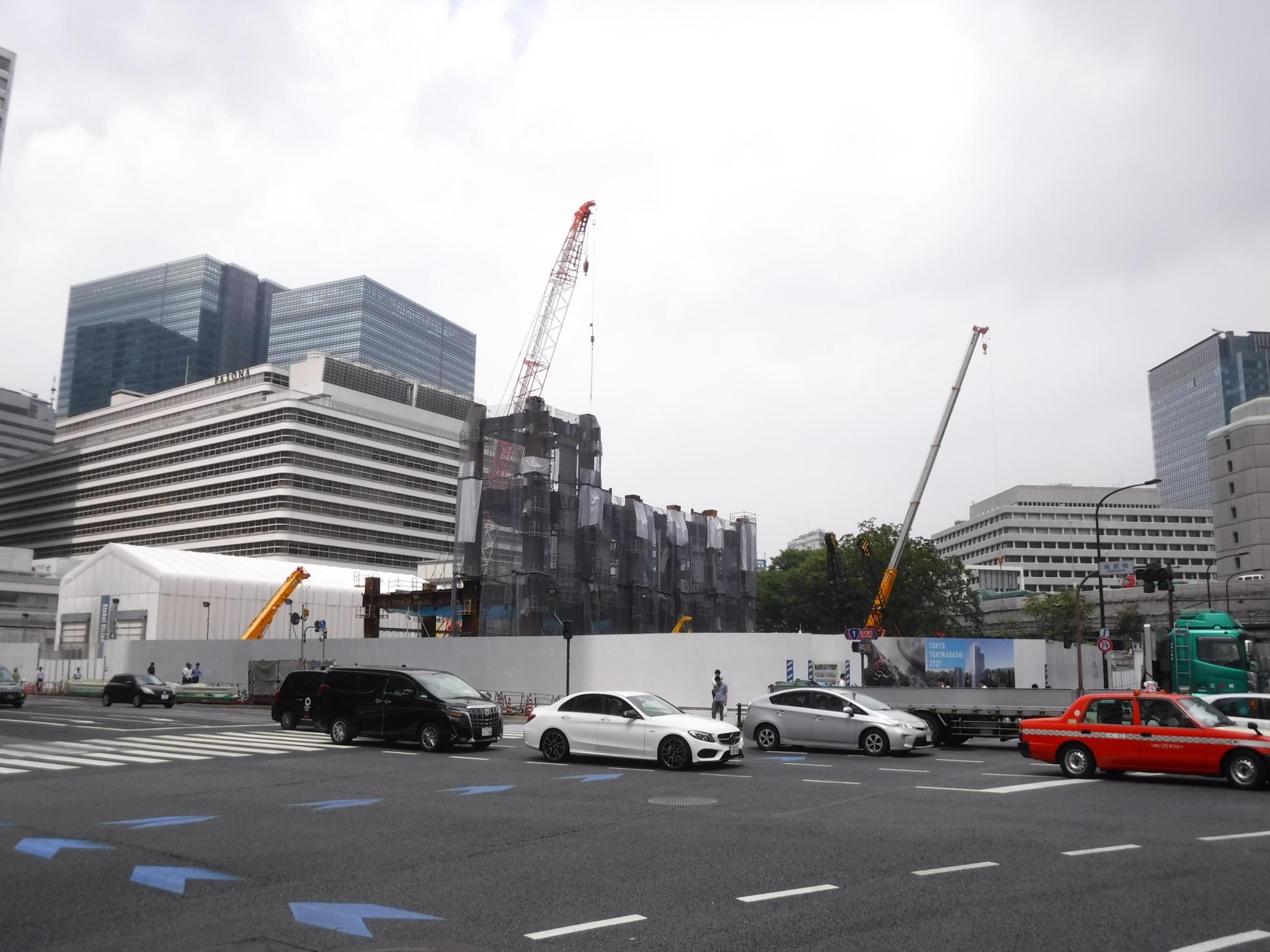 常盤橋地区再開発A・C棟解体工事
