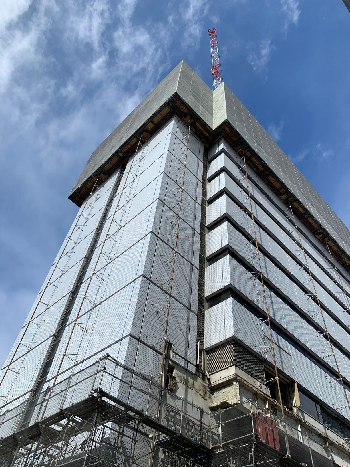 (仮称)渋谷区千駄ヶ谷四丁目計画 既存建物解体工事